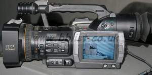 Boxed Panasonic ag-dvx100AE pal camcorder (17 hours only) 10