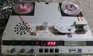 Lyrec rb02 ( rb-02 ) reel reel player with lyrecblue case, r