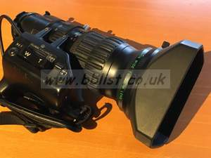 Fujinon A13x6.3 Bern-SD Wide Angle Lens with 2x extender