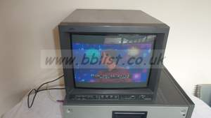 JVC TM-H150CG SDI 15inch Monitor