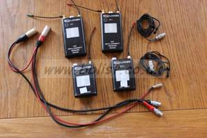 Micron Explorer radio mics ch38  X2