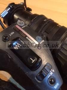 Canon J21x7.8B4 IASD with Extender