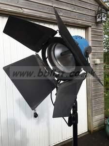Arri 2K Quartz Open Face Lamp and Stand