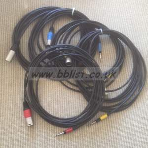 Bantam/XLR patch cables