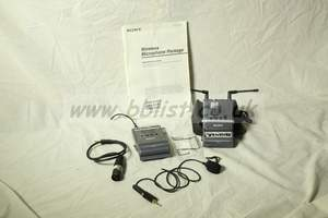 SONY URX-P1 - Radio mic set