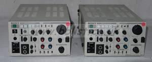 2x sony ccu350p multicore CCUS (pal)