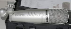 Superlux cm-h8a platnium large diaohragm condenser cardioid