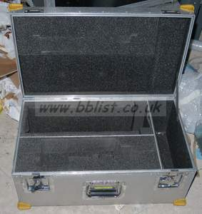 Flightcase for Camera CCU and RCP (eg HD1500, HD2500 etc)