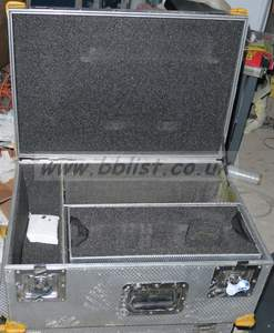 Flightcase for Camera CCU and RCP (eg HD1500, HD2500 etc) us