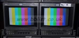 2x Sony BVM9045D