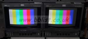 2x Sony bvm9044D