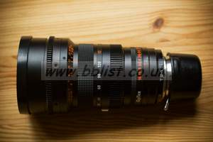 Zeiss Vario-Sonnar 12-120mm zoom (Optex Conversion)
