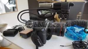 Canon EOS C300 EF cinema camera with DAF