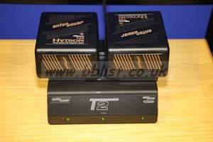 Anton Bauer T2 Charger & 2 x Hytron 140 batteries