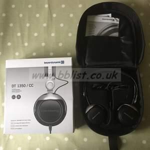 Beyerdynamic DT 1350/CC headphones