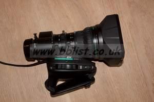 """Fujinon 2/3"""" Standard Lens, 2x ext, Professional Grade HD"""