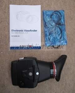 The Alphatron EVF 035W  external viewfinder