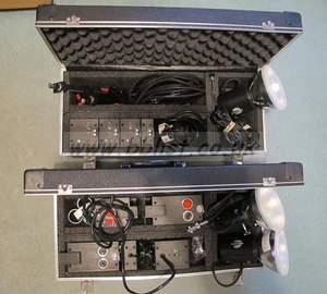 Lumedyne 3 Portable Flash Head Kit