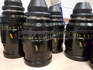 Cooke S4i mini lens set of 7 in cases