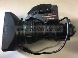 Canon J16a X 8B4 IAS SX12 With Doubler B4 Mount ENG Lens