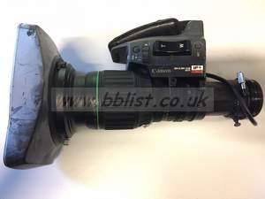 Canon J9 x 5.2 B4 KAS SX12 Broadcast Wide Angle Lens