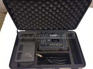 HHB Portadat PDR1000TC (PDR1000 + TCP1000). Flightcased