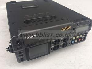 Sony DSR50P portable DVCAM player recorder