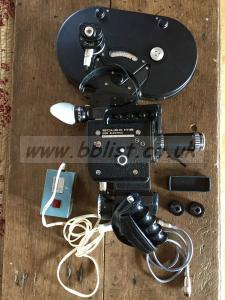 SUPER 16 Bolex EBM, with battery, charger, 400ft mag, zoom