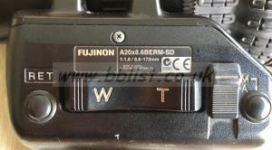 Fujinon A20x8.6 BERM SD 2/3 lens
