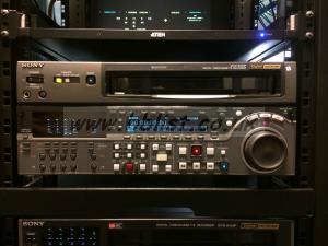 Used Betacam Sdi Recorder DVW-2000P.