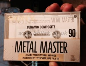 Sony Metal Master cassettes
