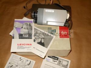 Leica Leicina double 8  8mm cine camera
