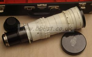 Kinoptik 300mm cine special lens in arri PL mount