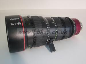 Canon CN-E14.5-60 S35 lens