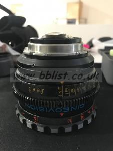 25mm Cineovision Canon 25mm T1.4 Lens
