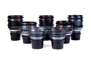 Cooke Speed Panchro 7 lens set - Van Diemen