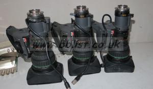 Canon J15x8 IAS sx12 lens with extender, focus servo etc (re