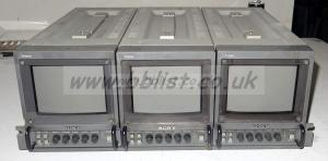 19inch rack with 3x sony pvm6041qm