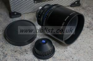 Carl Zeiss CP.2 135mm T2.1 Compact Prime PL Mount