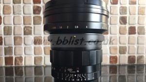 Voigtlander Nokton 10.5mm f 0.95