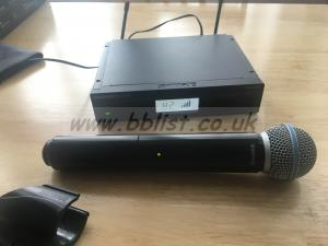 Shure BLX24RUK/SM58 Rack Mountable Handheld Wireless Mic