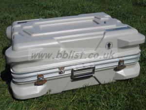 Flight case with wheels