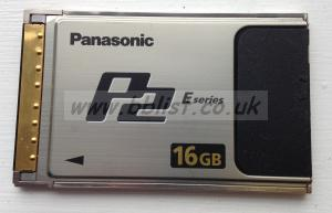 Panasonic P2 Card 16Gb