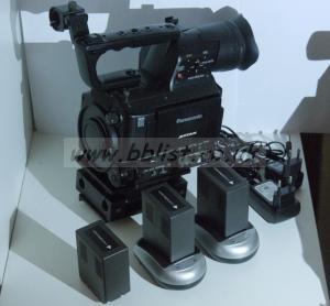 Panasonic AF101 HD Cinema Camera Kit including Bridge Plate,