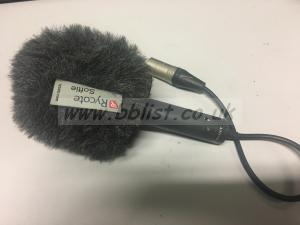 Sony HDW 790 camera microphone with rycote