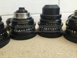 Set of Schneider Xenon vintage PL