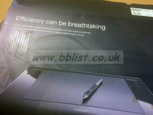 BB List - ITEM 61310, Wacom Intuos 3 A4 graphics tablet United Kingdom