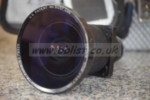 Kinoptic F5.7mm. T2.3 C-mount lens.