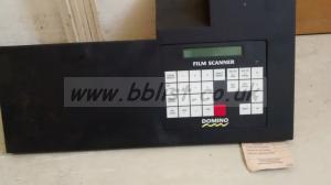 Domino / Quantel film scanner computer display