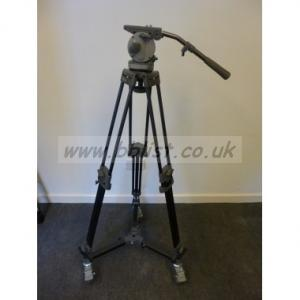 Libec H70 Tripod kit with Carbon Legs and Dolly